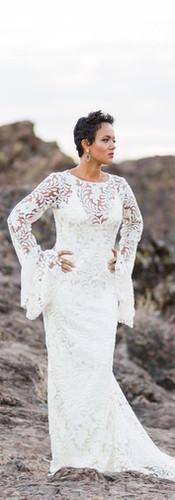 Boho Bride in Desert