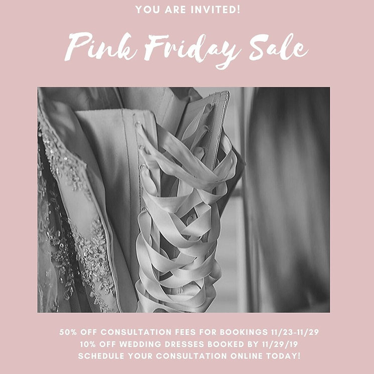 Pink Friday Sale!