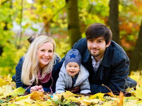 Rodinné podzimní focení v Olomouci