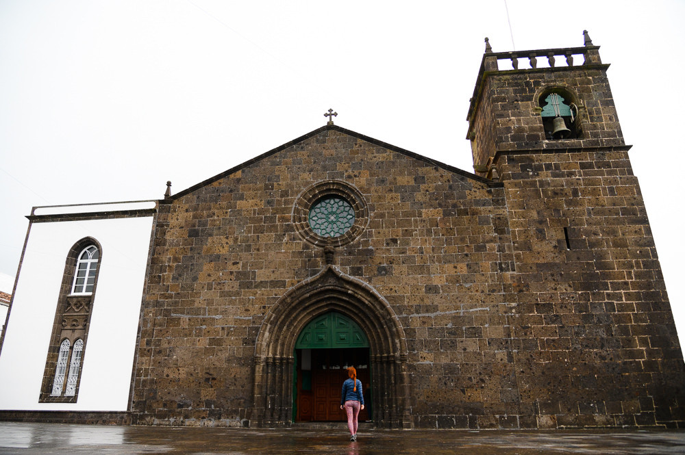 One of Azores lovely churches, Sao Miguel.