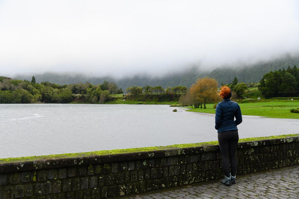 Sete Cidades lakes in Azores, Sao Miguel.