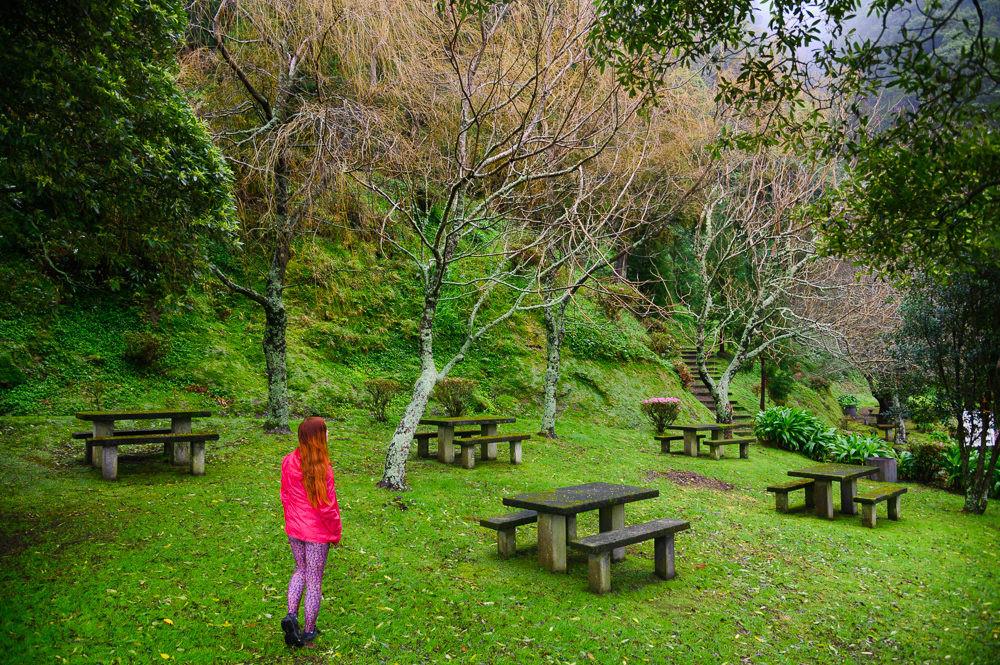 Secret gem in Sete Cidades at Sao Miguel, Azores.