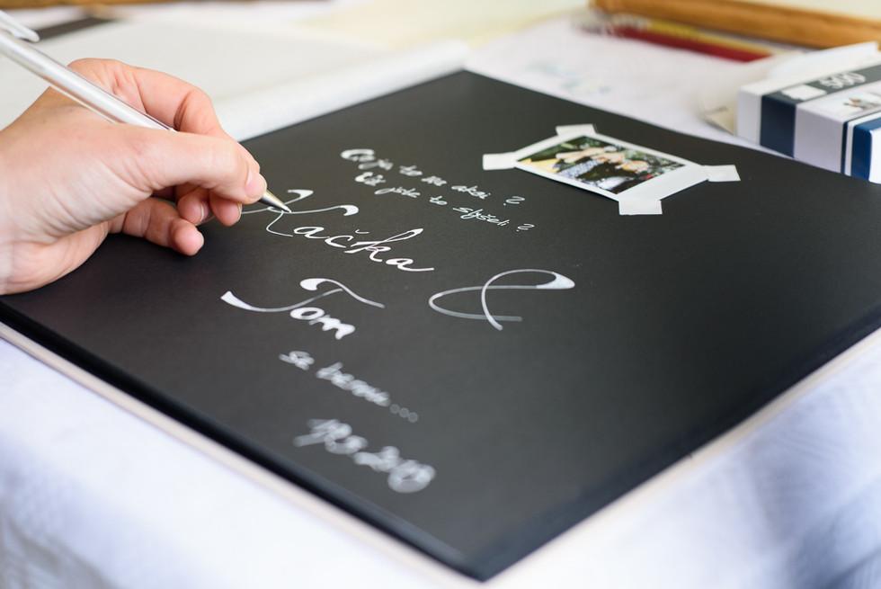 Kniha blahopřání s fotografiemi