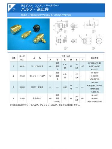 E-7.バルブ・逆止弁