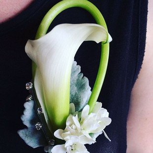 Corsage with Cala Lily