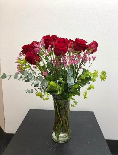 A dozen roses