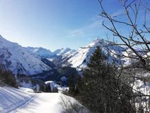 Ausblick nach Lech