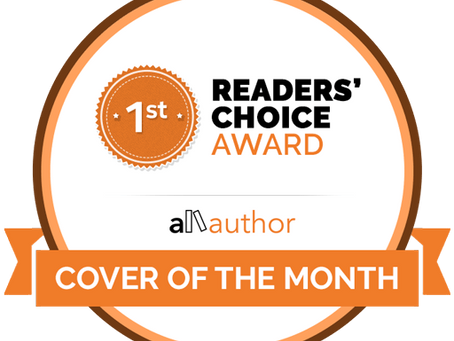 National All-Author Cover of the Month Contest WINNER!