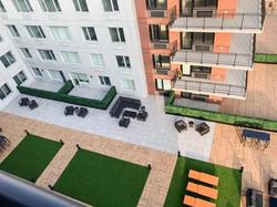 Courtyard from Balcony