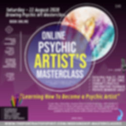LEARN Psychic ARTISTS Masterclass 22 Aug