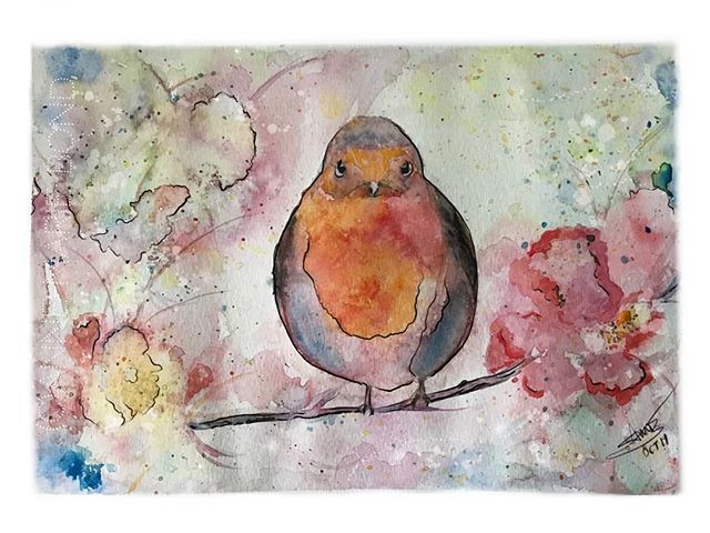 One of my latest watercolour paintings..