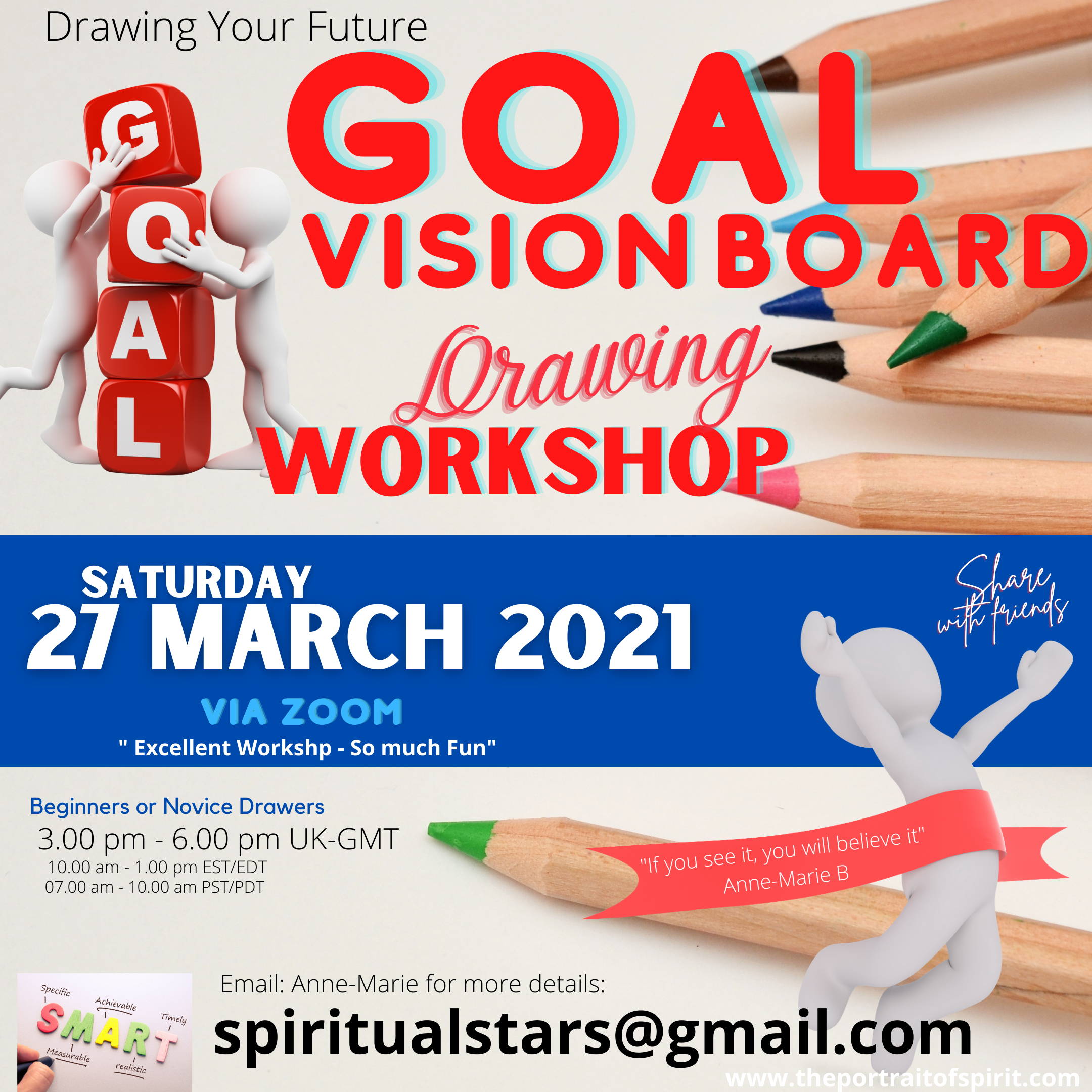 IG 27 Mar - Goal Vision Board Drawing Wo