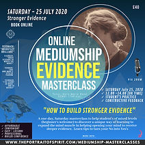 Authentic Mediumship Evidence Masterclas
