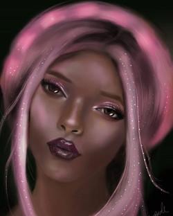 spirit goddess painted AnneMarie Bond