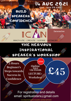 The Nervous Inspirational Speaker aug