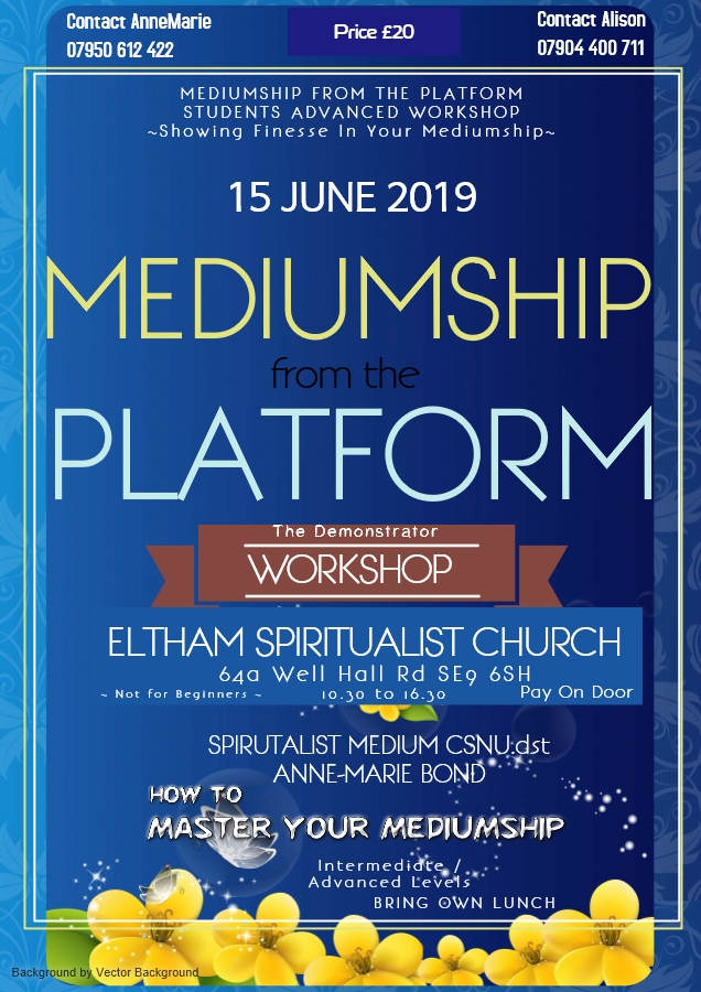 Master Your Mediumship Workshop Eltham