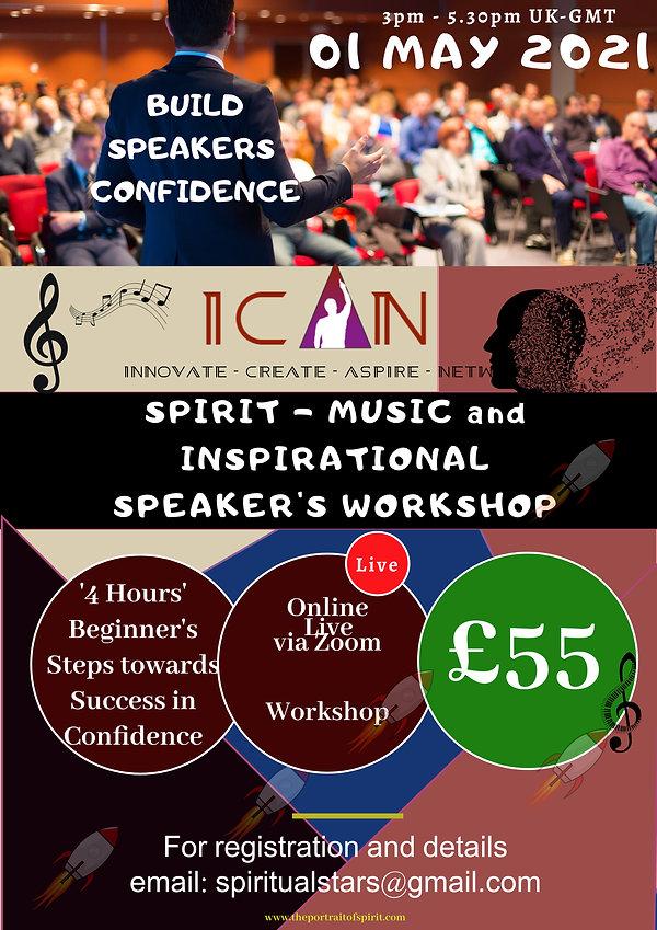 SPIRIT MUSIC and INSPIRATIONAL SPEAKING.