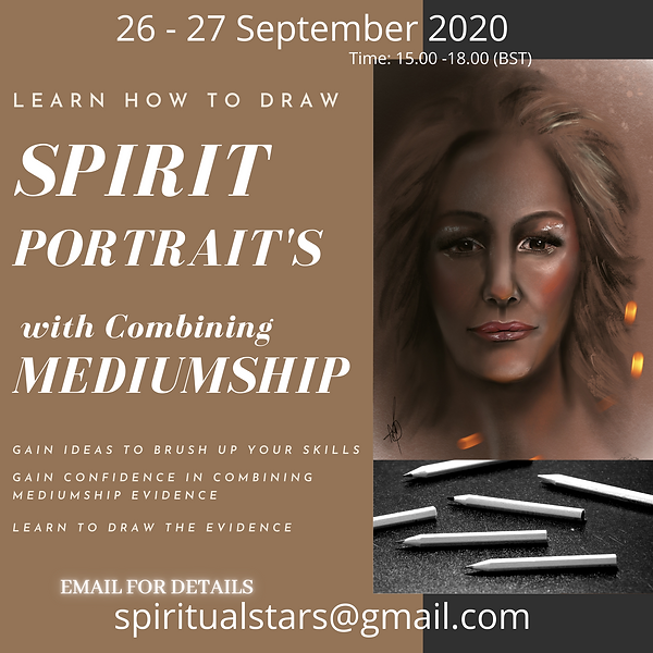 SPIRIT PORTRAIT with MEDIUMSHIP 26-27 SE