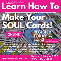 Psychic Art SOUL ART Cards Workshop even