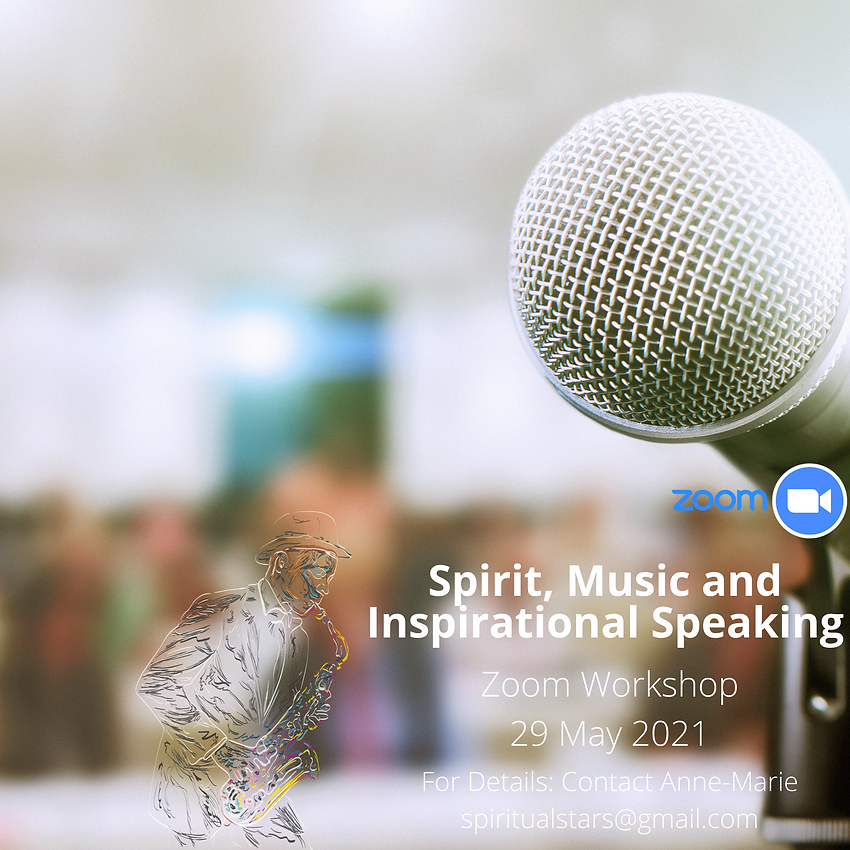 Spirit Music and Inspirational Speaking