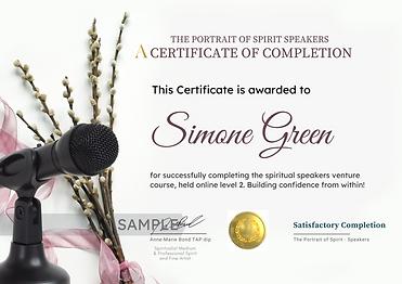 Certificate Completion The Portrait of Spirit - Spirit Portrait Mentorship (6).png