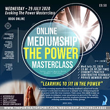 Evoking The Power Masterclass Wed 29 Jul