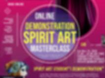 LEVEL 6 - SPIRIT ART Masterclass 18 Oct