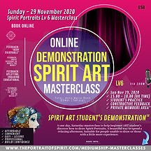 LEVEL 6 - SPIRIT ART Masterclass 18 Oct