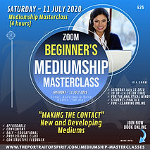 Beginners MEDIUMSHIP Masterclass 11 JULY