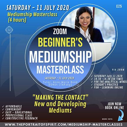 Beginners MEDIUMSHIP Masterclass 11 JULY