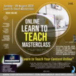 Learn To Teach Masterclass 13 Sep 2020.j
