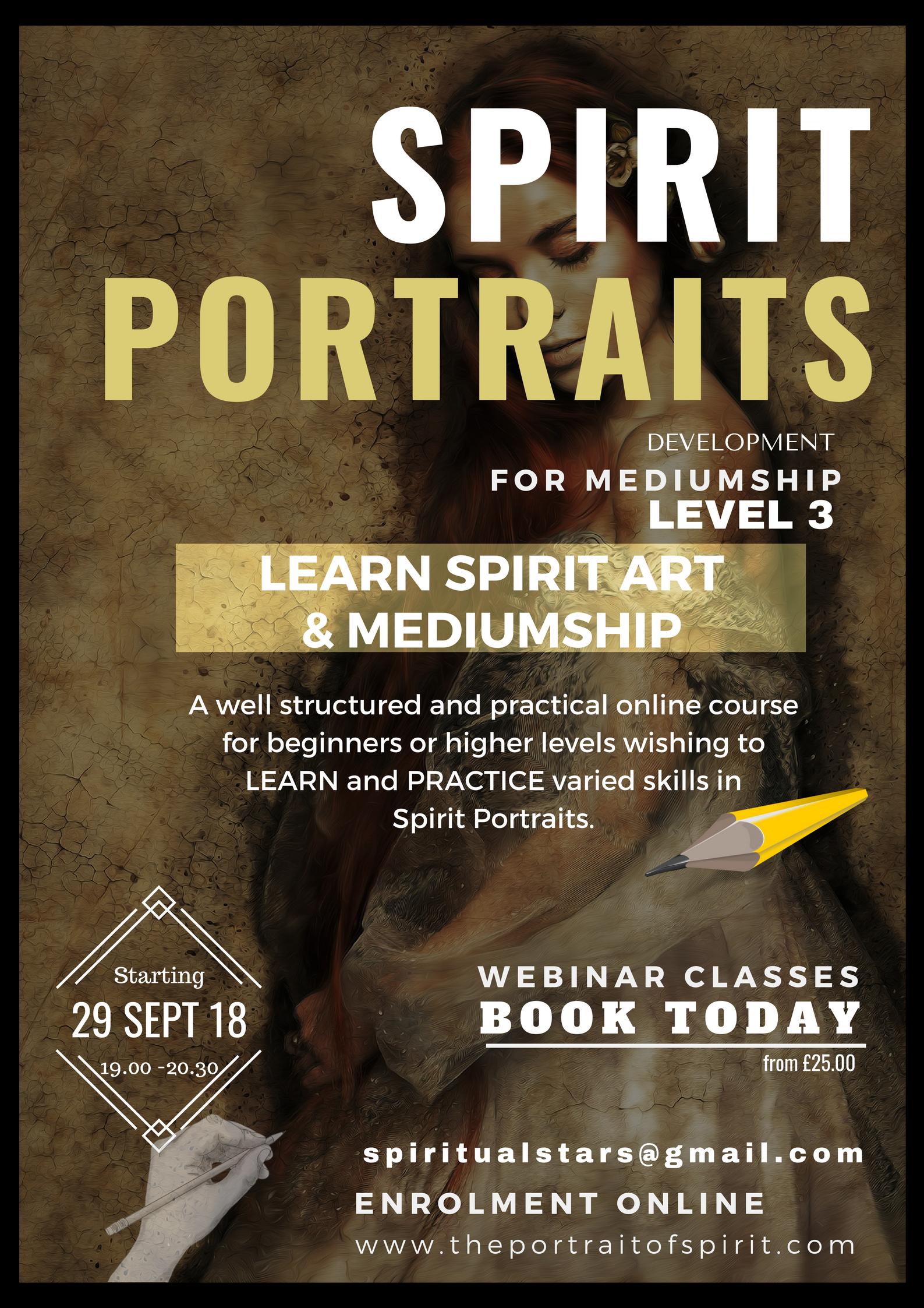 spirit portrait class 2