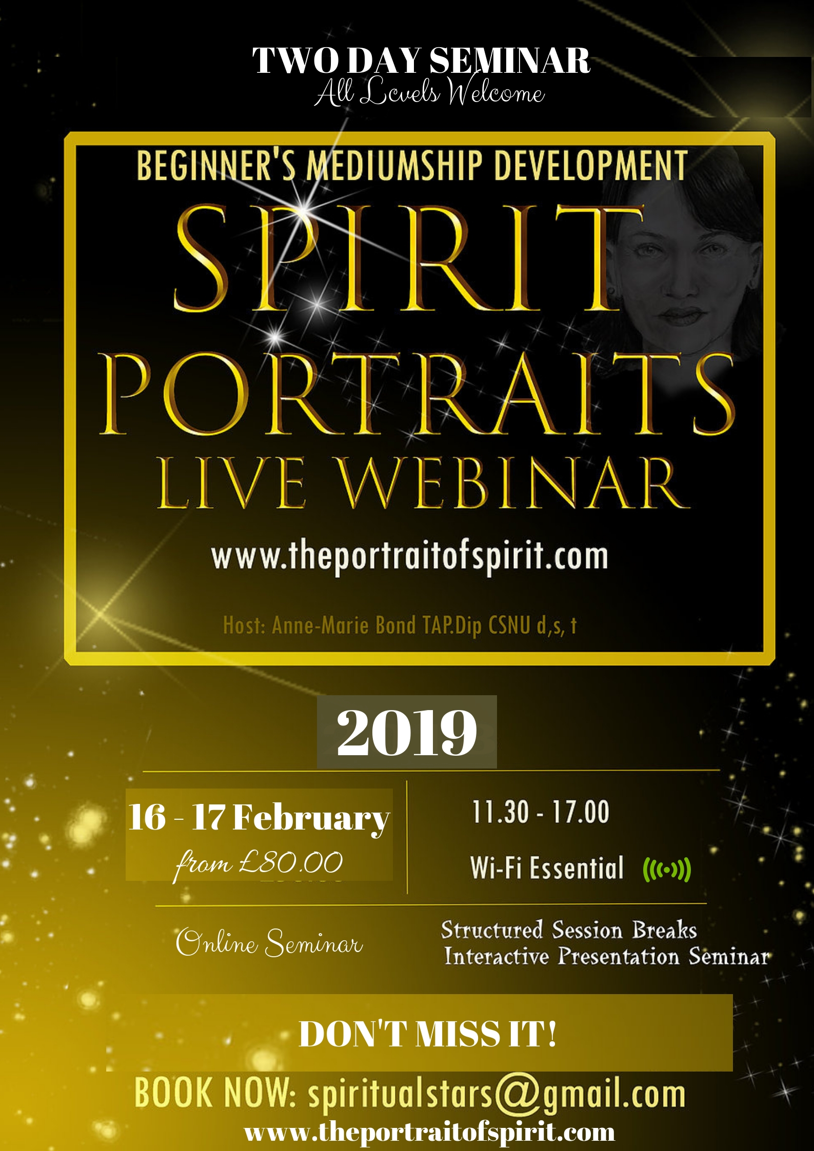 Spirit Art 2Day Seminar 2019