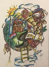 Auragraph Psychic Art