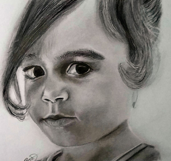 Graphite Pencil Portraits AMBond