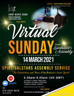 FBSx Virtual Sunday Spiritualist A servi