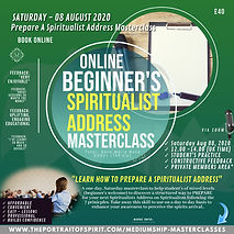 Speaking Masterclass 08 August SPIRITUAL