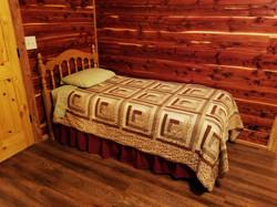 Twin bed in Bedroom #4