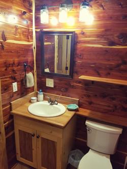 Bedroom #2 on suite Bathroom