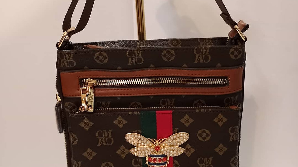 Gucci inspired cross body