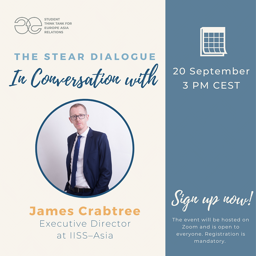 The STEAR Dialogue: In Conversation with James Crabtree