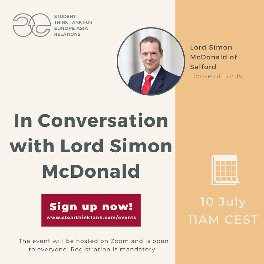 In Conversation with Lord Simon McDonald