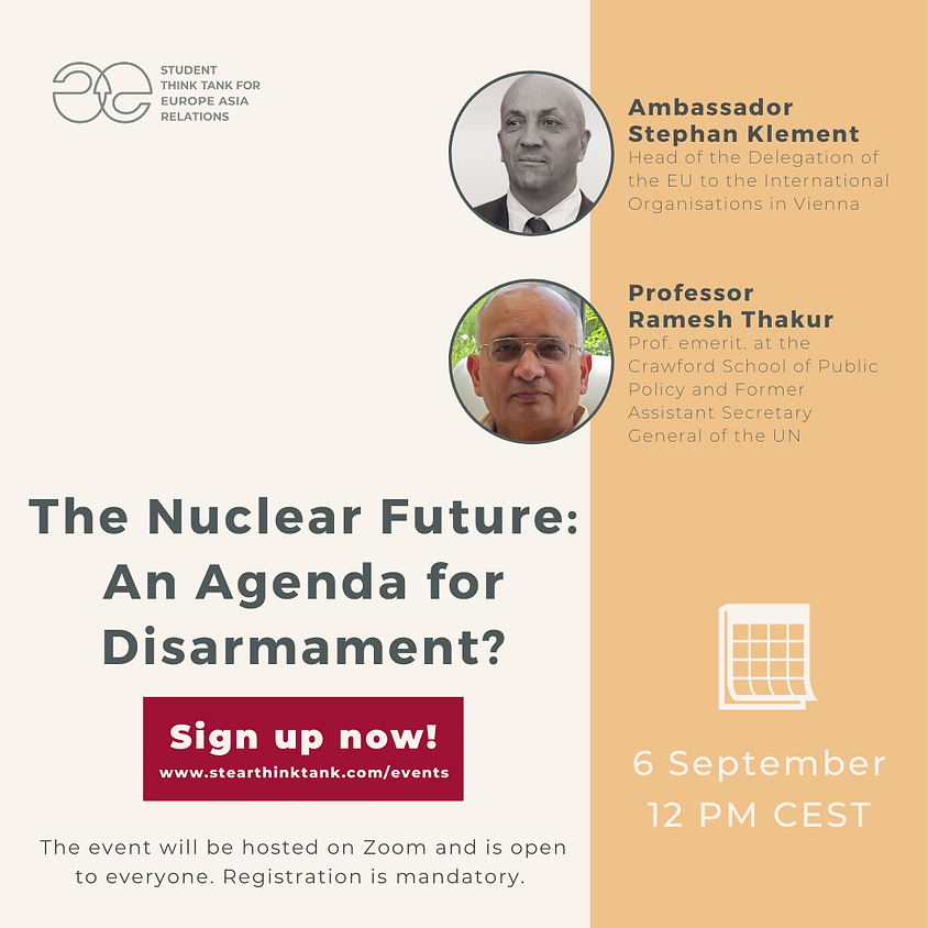 The Nuclear Future: An Agenda for Disarmament?