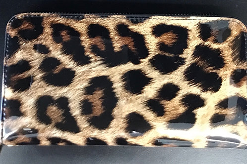 Cheetah Wallet with Strap