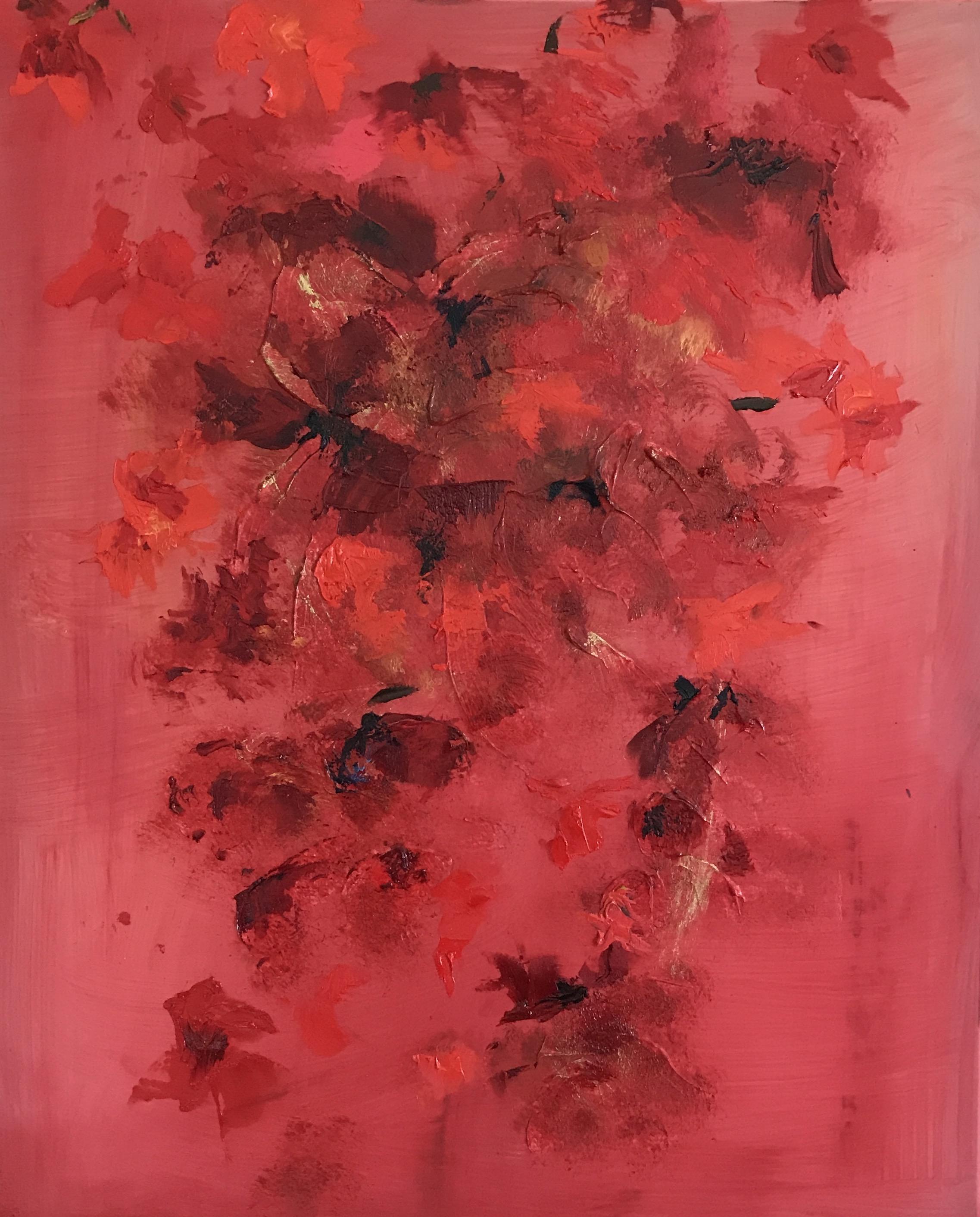 """""""Red Silk Flower"""""""