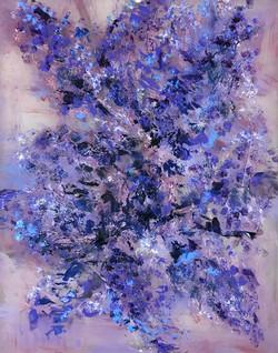 """""""Lilac Silk Flower"""""""
