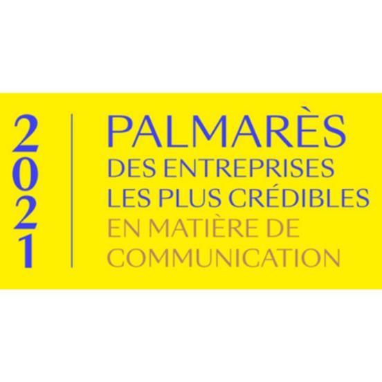 Palmarès 2021 des entreprises les plus crédibles en matière de communication