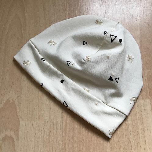 """Bonnet """"Triangles-couronnes paillettes"""""""