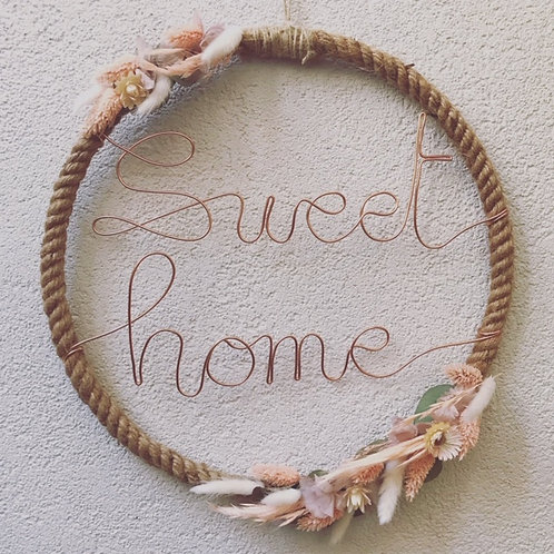 "Couronne ""Sweet home"""
