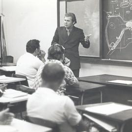 Curso aos taxistas em 1974
